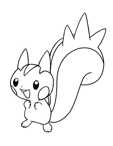 pokemon coloring pages pachirisu ink pachirisu pokemon by charfade on deviantart