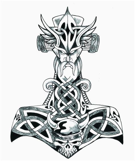 thor tattoo designs viking symbols tattoos szukaj w