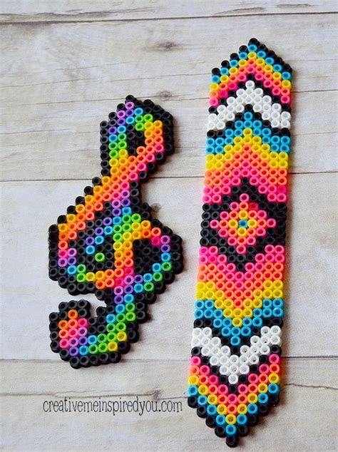melty bead designs perler and note on