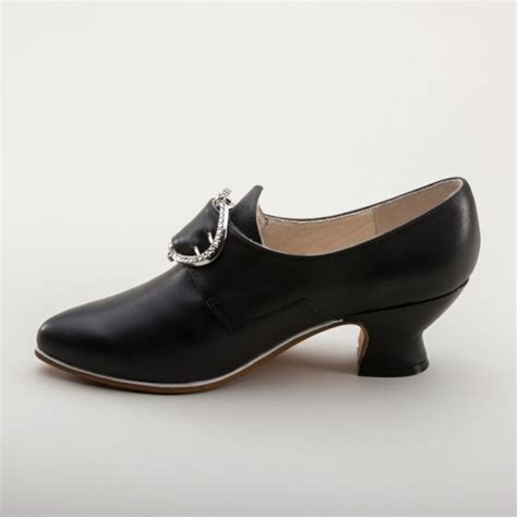Fraser Shoes american duchess quot fraser quot 18th century leather shoes