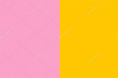 contrast color for pink fond de contraste de couleur rose jaune photographie