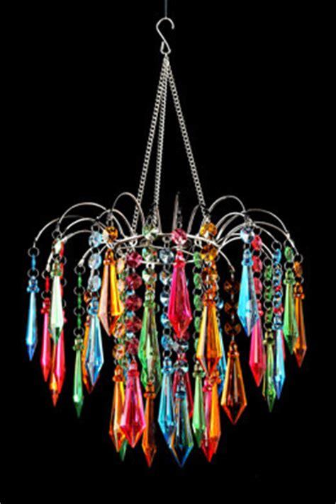 color chandelier chandeliers