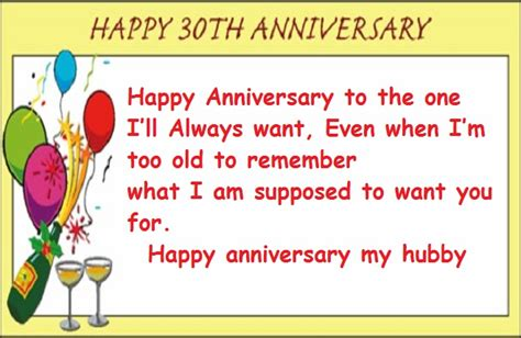 Wedding Anniversary Quotes To by 30th Wedding Anniversary Quotes To My Husband