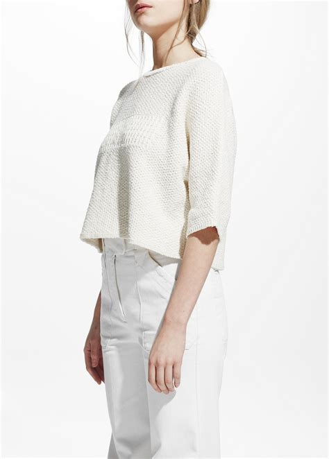 Cotton Cropped cropped cotton sweater fashion skirts