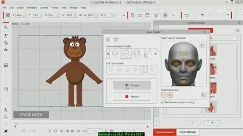crazytalk templates crazytalk animator tutorial 11 nutzen des talking
