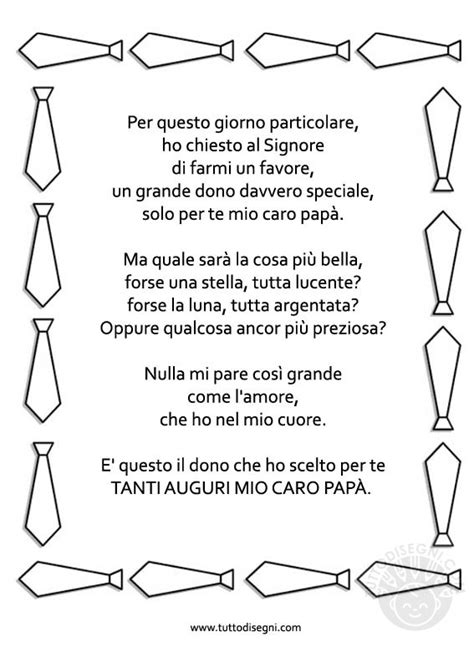 Cornice Festa Papà by Poesia Compleanno Pap 224 Hx48 Pineglen