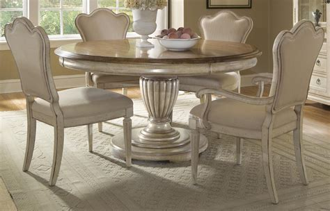 round dining sets a r t provenance 5 pc round dining set by dining rooms outlet