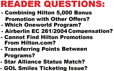 reader questions combining promotions best oneworld alliance program to earn