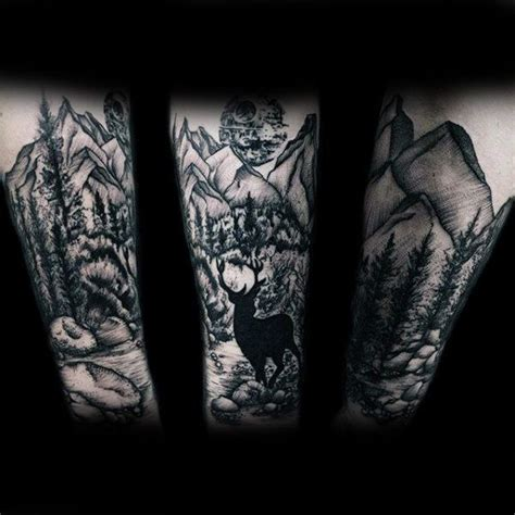 outdoor tattoo sleeves 100 nature tattoos for great outdoor designs
