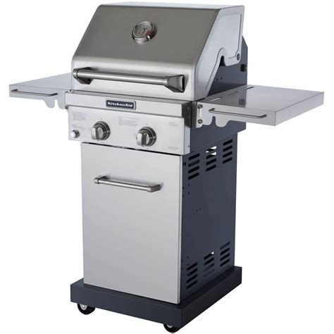 Kitchenaid Barbecue Grill Kitchenaid 20 Inch Propane Gas Grill On Cart Bbq Guys