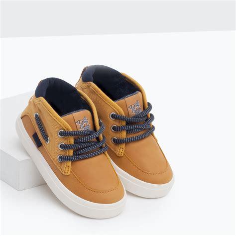 baskets nautiques chaussures b 233 b 233 gar 231 on b 233 b 233 3 mois 3 ans enfants zara baby s