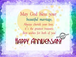 Wedding Wishes God May God Bless Your Beautiful Marriage Happy Anniversary