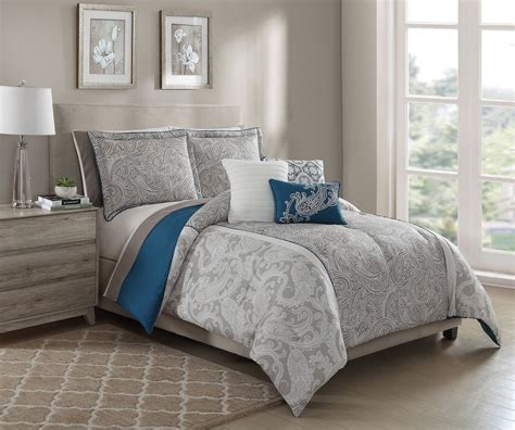 teal color comforter sets 10 piece annalise taupe teal ivory comforter set w sheets