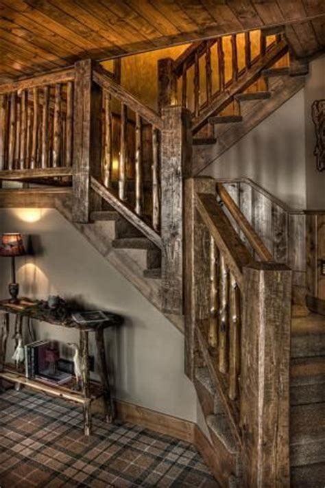 stunning rustic cabin plans loft with wooden staircase 17 best images about home nooks stairways balconies