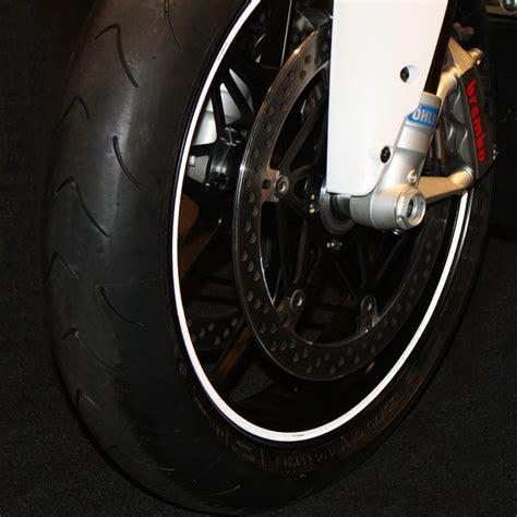 Felgenrandaufkleber Motorrad Wei by Felgenrandaufkleber F 252 R Motorrad