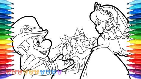 coloring pages mario odyssey how to draw mario odyssey mario princess peach 28