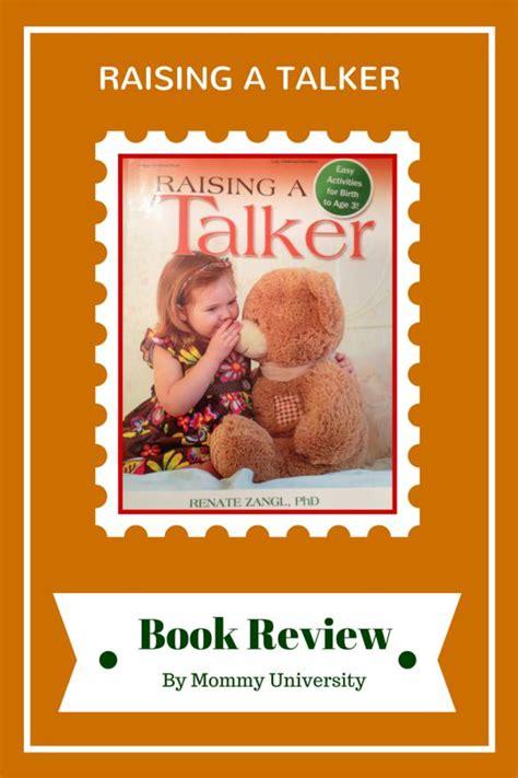 raising books raising a talker book review