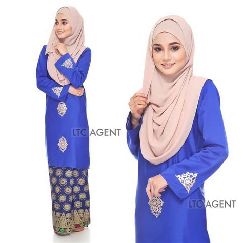 baju kurung moden d yana royal blue baju kurung baju kurung moden songket dokoh iii