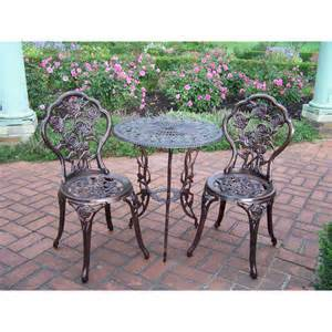 Walmart Patio Table Set 3 Bistro Patio Set Walmart