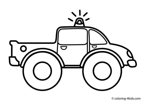 preschool coloring pages transportation truck coloring pages for kids transportation monster