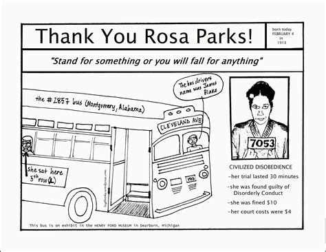 black history month rosa parks coloring page rosa parks coloring pages coloring home