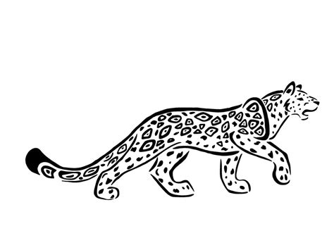 tribal jaguar tattoo designs amazing tribal jaguar design