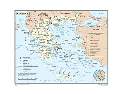 printable map of printable map of greece martw printable maps