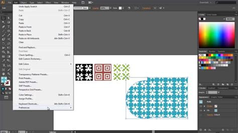como hacer un pattern brush en illustrator adobe illustrator como crear y editar quot patterns quot youtube