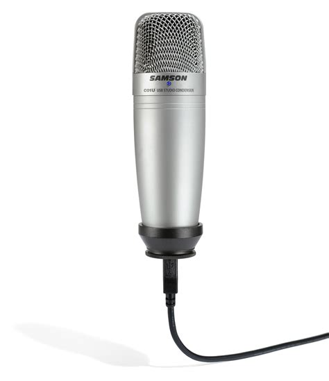 Samson Q2 Usb Microphone samson c01u usb studio condenser microphone