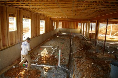 Plumbing Of A House by Build A Praire Style Home Plumbing In Pics