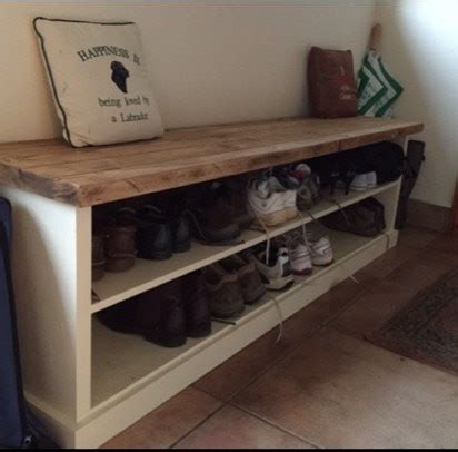 wooden shoe storage bench solid wood entryway bench custom made entryway bench by