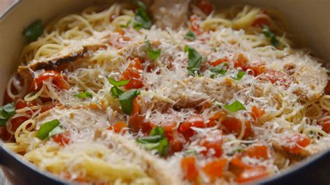 light chicken pasta recipes your is now complete thanks to chicken bruschetta