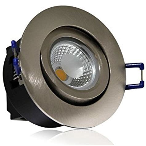 Commercial Recessed Lighting Fixtures Directional 5w Cob Led Recessed Lighting Fixture 2800k Warm White Led Ceiling Light Equal To