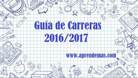 cursos para guia penitenciario 2016 gu 237 a de carreras 2016 2017