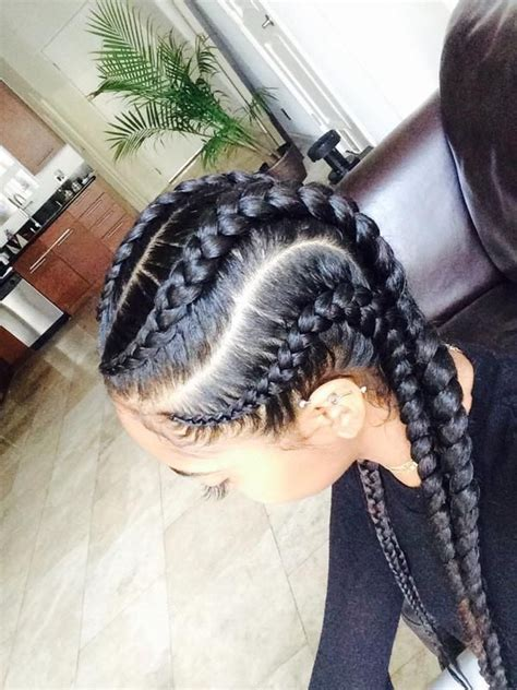 cornrows hairstyles big big cornrow braids hairstylegalleries com