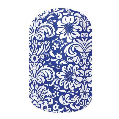 jamberry pattern envy i would wear the decorative cobalt nail wraps by jamberry