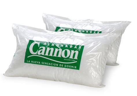 almohadas cannon pack de 2 almohadas cannon de vell 243 n 70cm x 40cm blanco