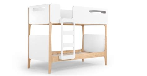 B Q Bunk Beds Linus Bunk Bed Pine And White Made