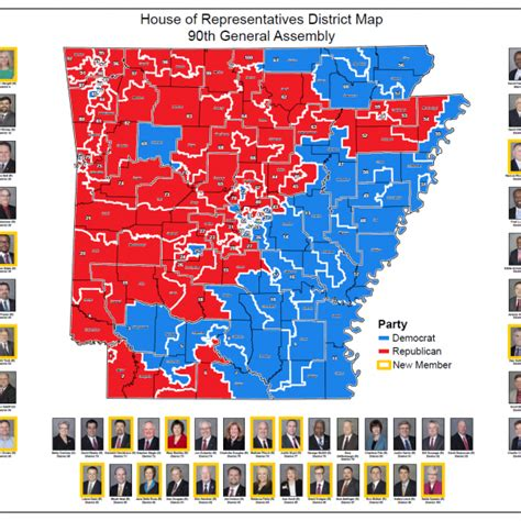 house of representatives map house of representatives district map 90th general