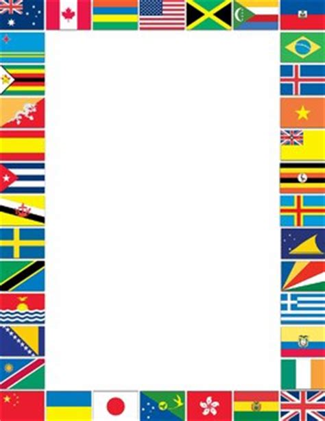 flags of the world quiz ppt borders and frames flags o by dancing crayon designs