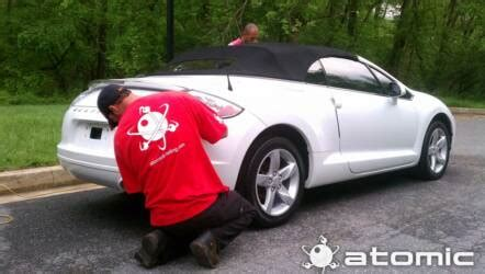 Auto Decal Installation In Maryland by Atomic Detailing Columbia Md Ellicott City