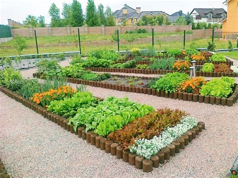 Potager garden design ideas ? plans, layout and tips for