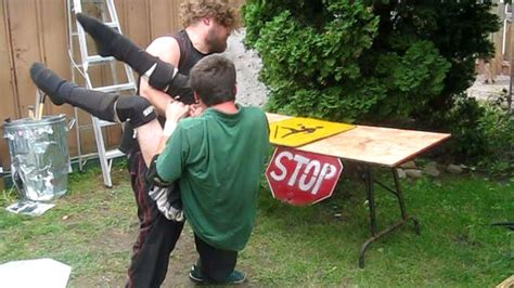 backyard wrestling youtube ric roberts vs devastator backyard wrestling match youtube