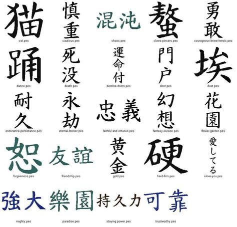 tattoo kanji symbols image gallery japanese writing tattoos