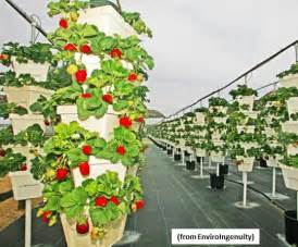 Garden Tower Vertical Container - the farm of the future will grow plants vertically and hydroponically greentech media