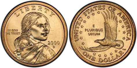 2000 d sac 1 regular strike pcgs coinfacts