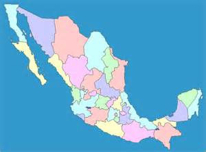 interactive map of mexico