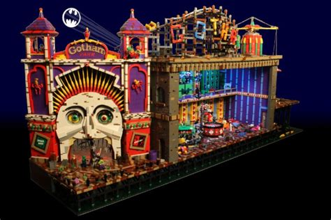 the fun house this animated lego joker funhouse is just awesome ohgizmo