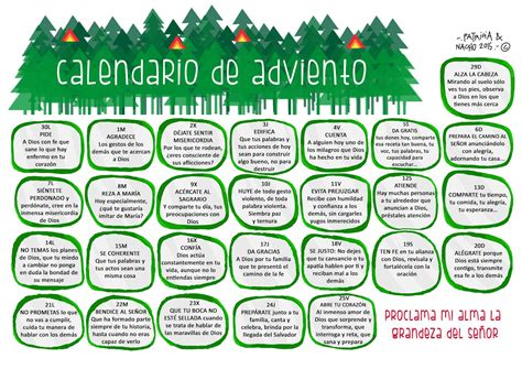Calendario Adviento 2017 Tras Y Cart 243 N Calendario De Adviento 2015