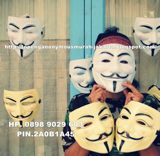 Promo Topeng Anonymous jual topeng vandetta murah jakarta topeng anonymous